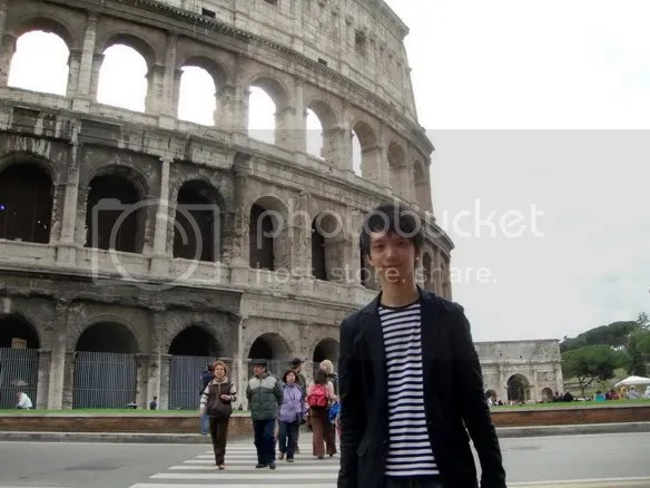 Jeremy C.K. Shih at Colosseo (Coliseum), Rome