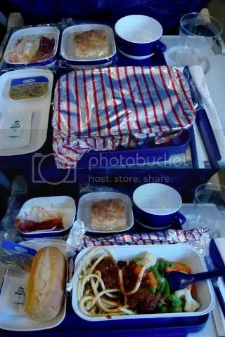 China Eastern to Shanghai (Lunch)