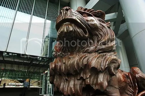 HSBC Lion - Stitt of Shanghai