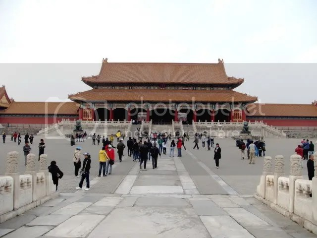 Supreme Harmony Gate, the Forbidden City