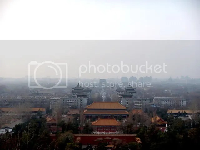 The Forbidden City Overlooked from Prospect (Coal) Hill