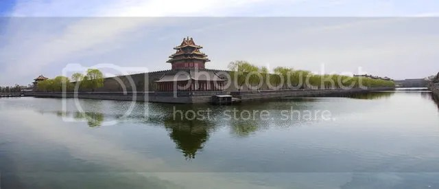 Northwest Corner of the Forbidden City 2010