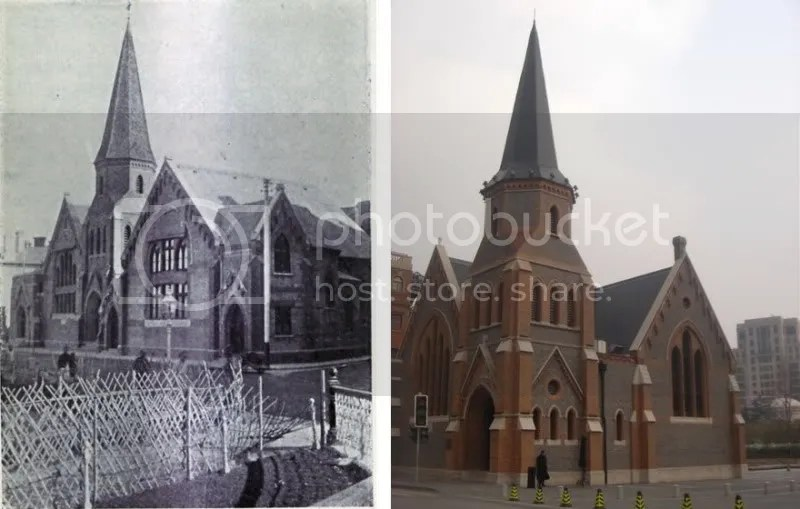Union Church 1886 & 2010