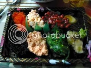 Sushi from J's FreshMart