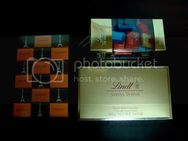 Swiss Lindt Chocolate