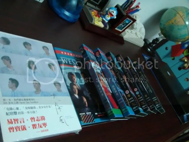 DVDs WW and the Novel WoS