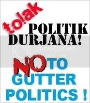 No to Gutter Politics