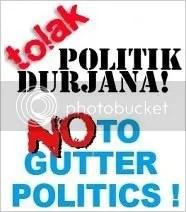 No to Gutter Politics