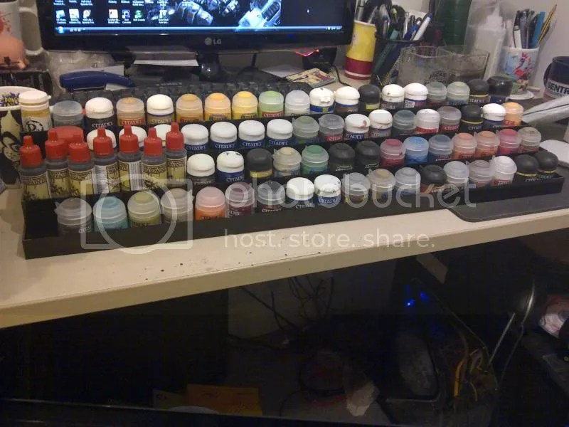 Paint Rack