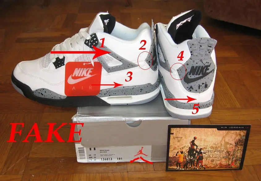 Real Or Fake Retro S: GUIDE ON HOW TO TELL FROM FAKE AND REAL NIKE AIR JORDANS
