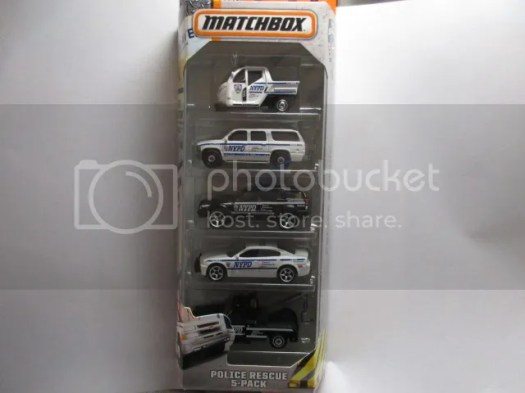 Police Rescue NYPD 5 Pack – Matchbox Collectors Forum