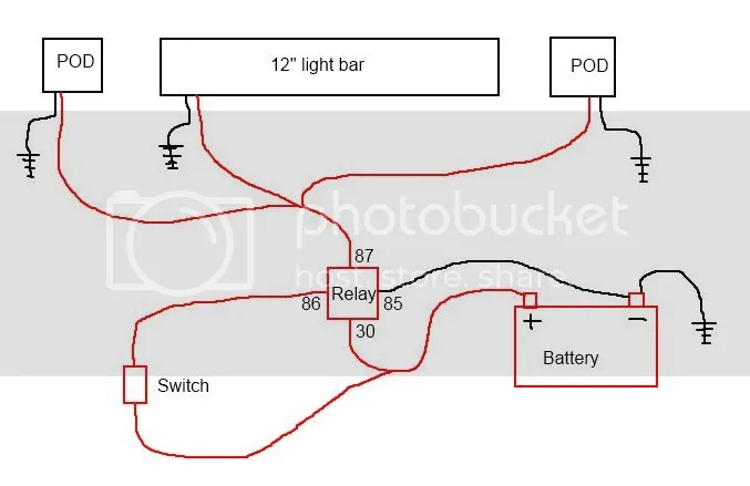Light Wire Wiring Bar Led Diagram 3