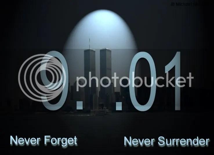 9-11-01 Never Forget, Never Surrender