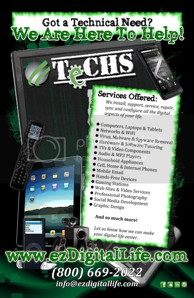 Oct 2012 : TeCHS Flyer