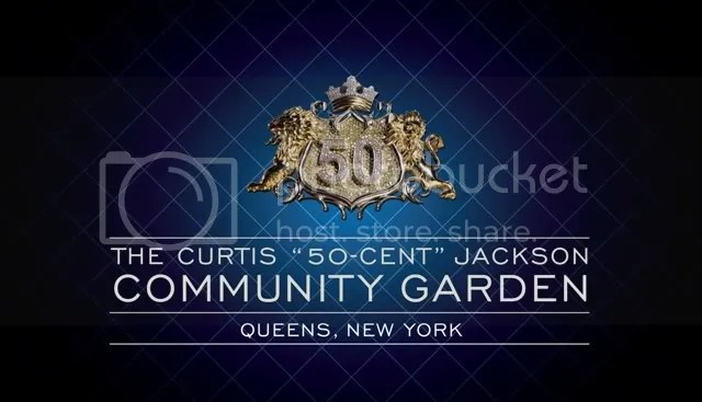 "The Curtis ""50 Cent"" Jackson Community Garden"