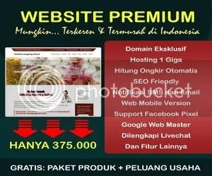 Produk Hot & Web Premium Semua Iso Hanya 375ribu