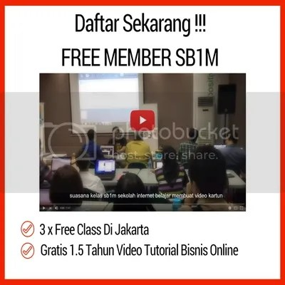 Daftar Free Member Video Tutorial Internet Marketing Dan Bisnis Online SB1M