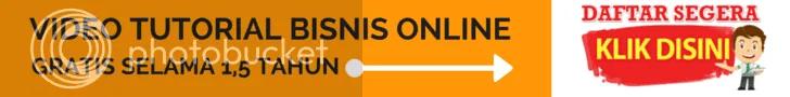 video tutorial bisnis online gratis 1.5 tahun