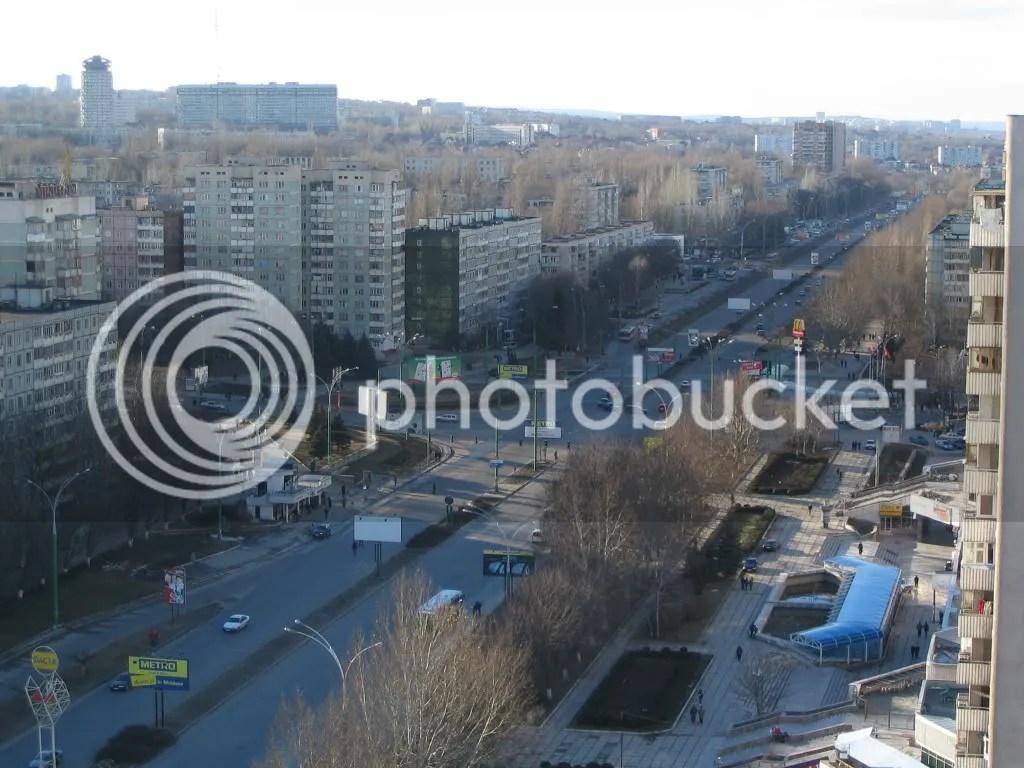 Centro de Chisinau, la capital de Moldavia