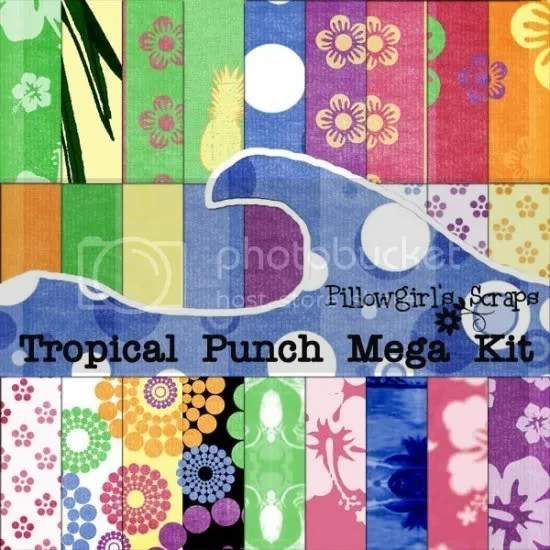 Pillowgirls Tropical Punch kit
