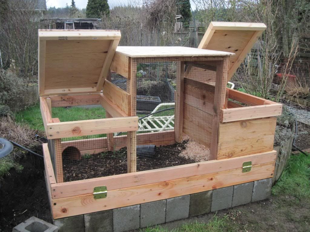 The New Quail Coop Is Finished Out Of Eden