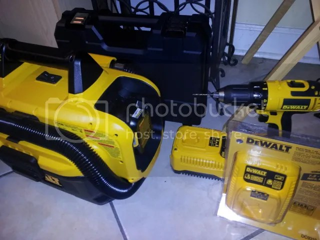 Dewalt cordless tools