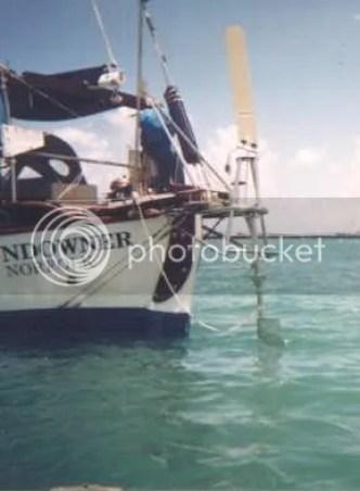 Sundowner with Monitor windvane