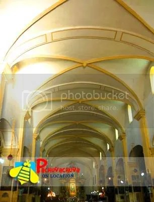 vigan cathedral interiors
