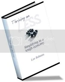 Thriving on Less - free ebook by Leo Babauta