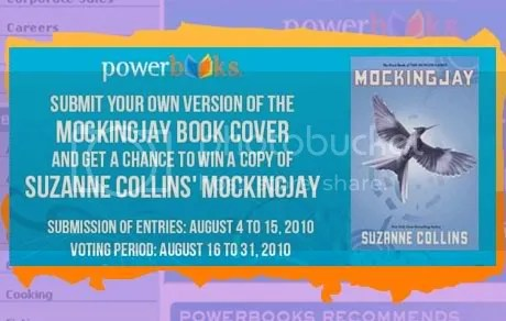 The Powerbooks Mockingjay Book Cover Contest
