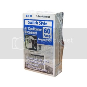 CUTLER HAMMER DPB222RP Switch StyleOutdoor Air