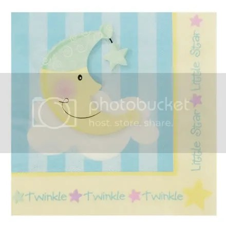 Moon and Star Dinner Napkins
