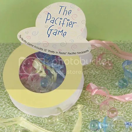 The Pacifier Game ~ Classic Baby Shower Game, $11.35