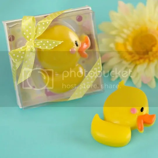 Ducky Duck Scented Soap Favor for Baby Shower or Birthday