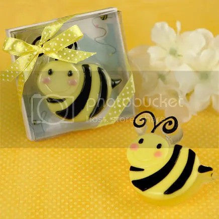 Cute As Can Bee Scented Soap Favor for Baby Shower or Birthday