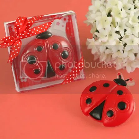 Ladybug Scented Soap Baby Shower/Birthday Favors