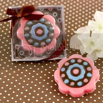 Trendy Flower Soap Favor