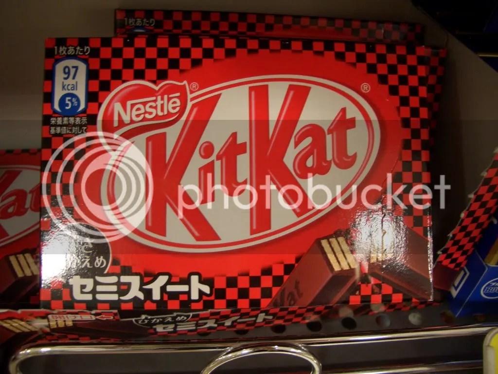 Kit Kat Semisweet flavor