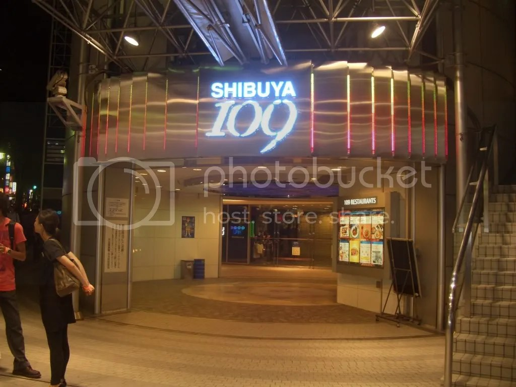 The Shibuya 109 building