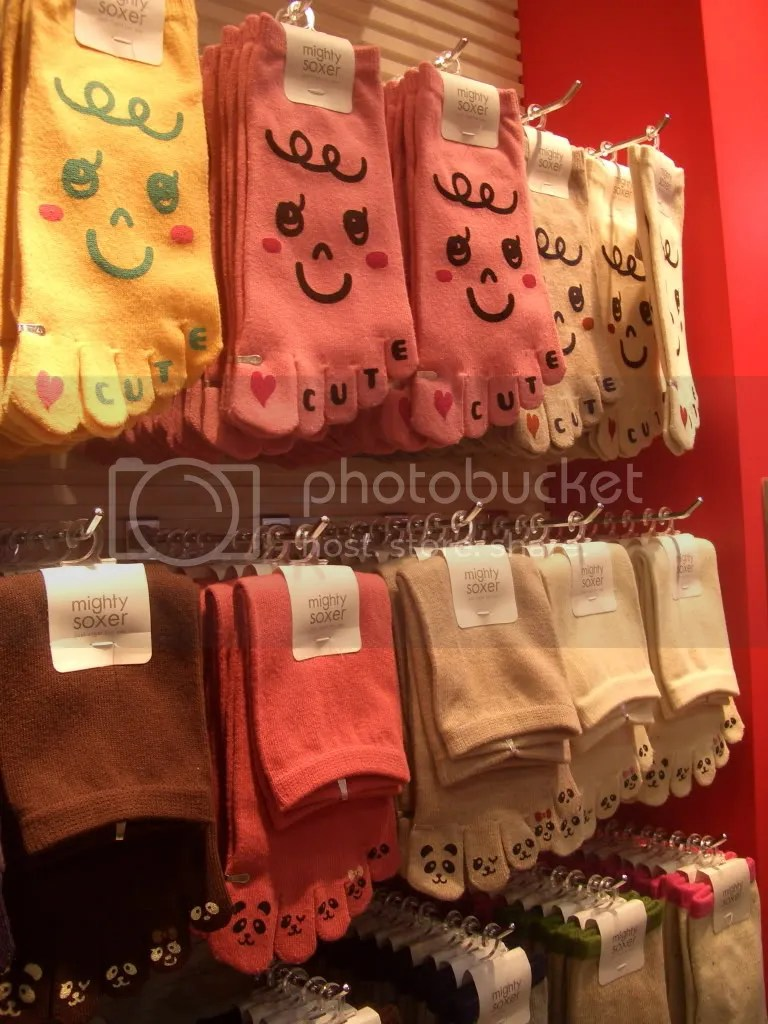 Some of the cute socks