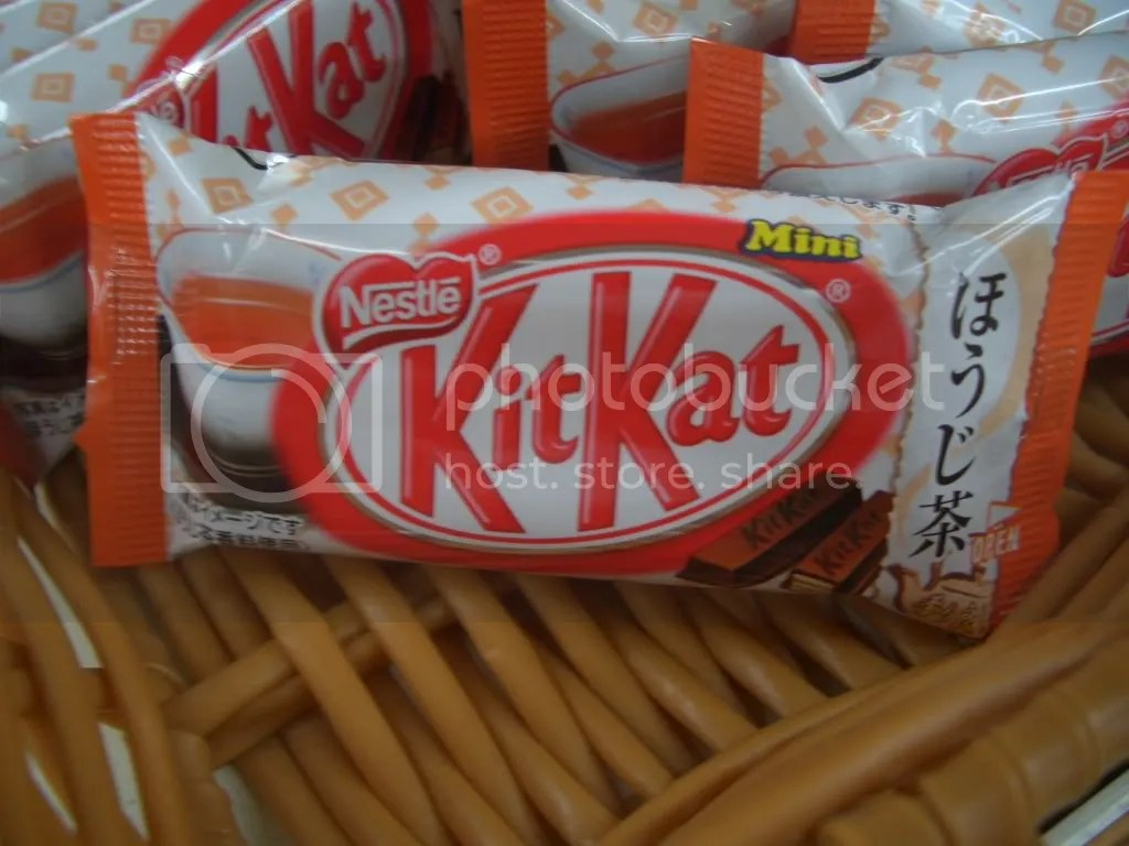 Roasted Tea Kit Kats