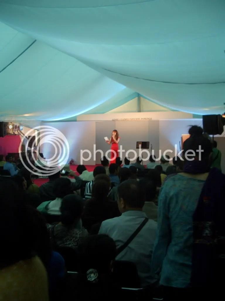 karaoke tent
