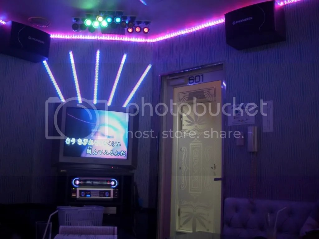 Karaoke room from Lost in Translation!