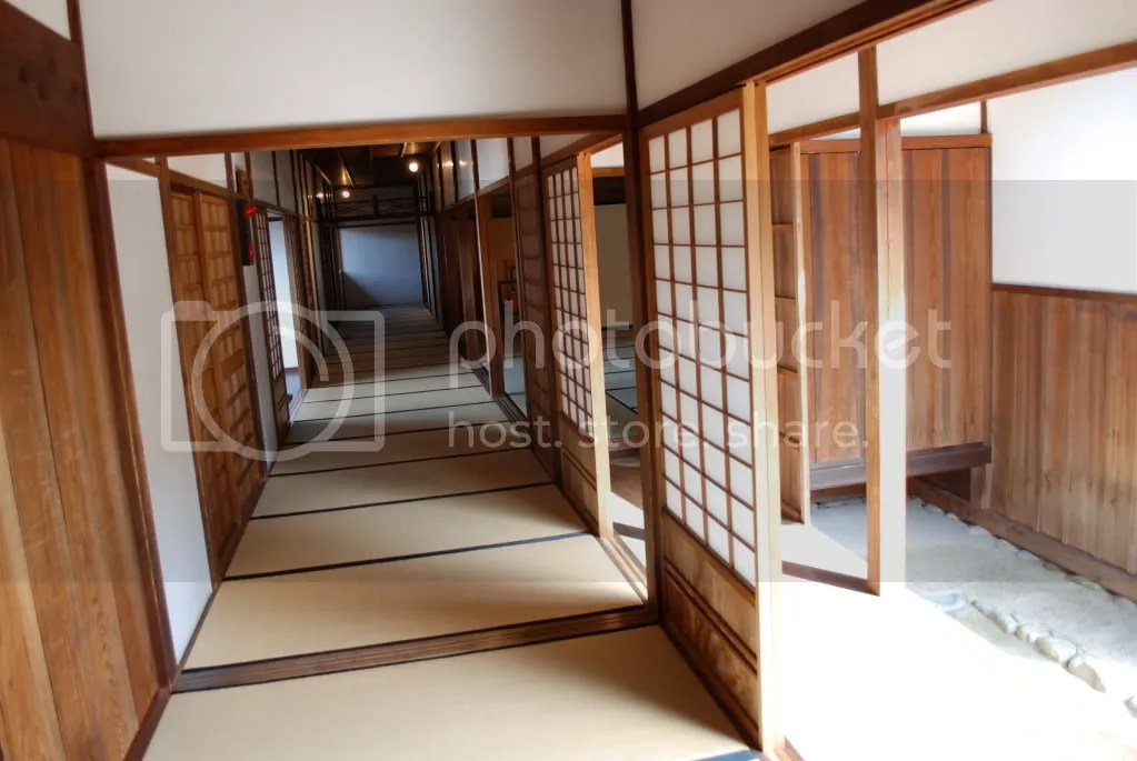 Former Tokugawa Shogunate government office. hallway.