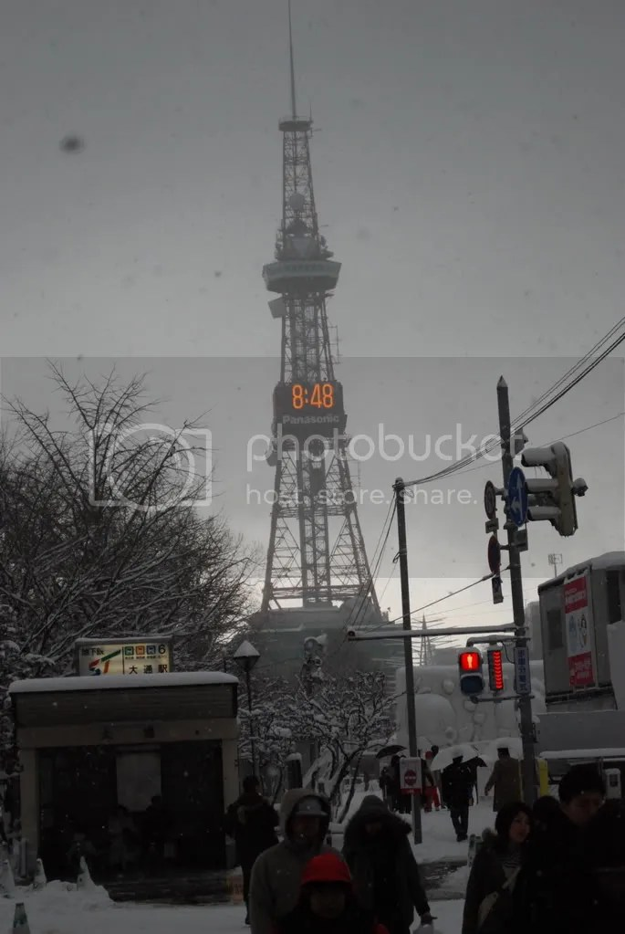 TV Tower in snowy Sapporo