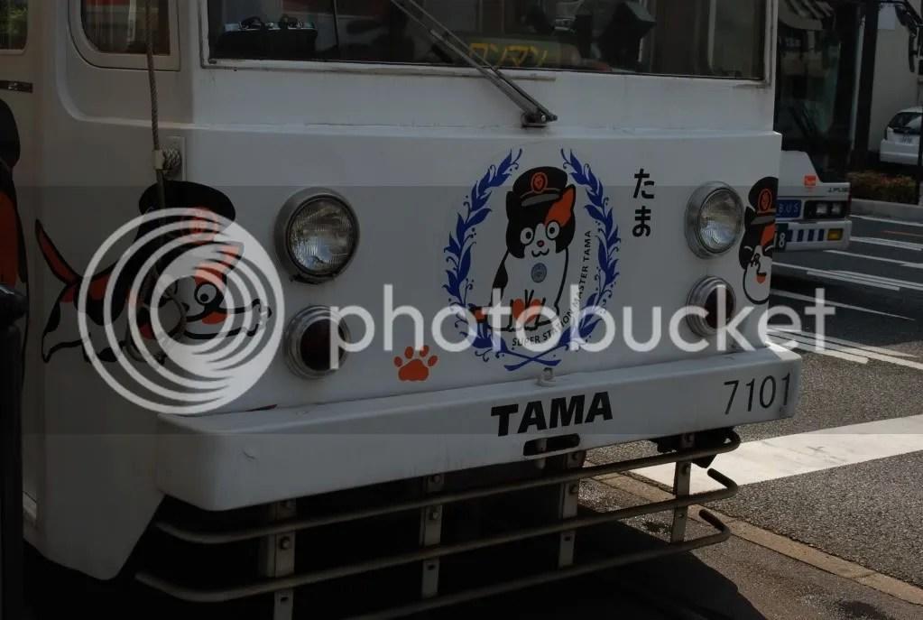 Front of Tama densha