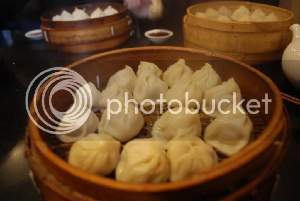 Delicious mantou dumplings