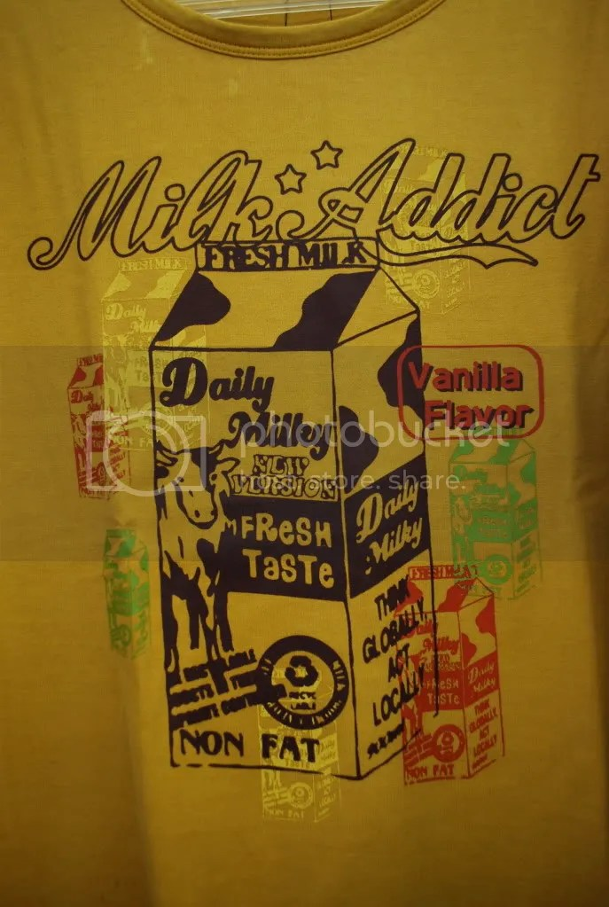 Milk T shirt