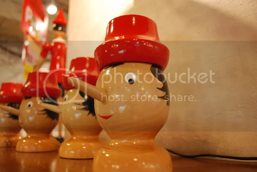 Pinocchio, Pinocchio, Pinocchio, Pinocchio