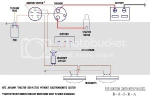 Ignition Switch  Starter  Wiring Question